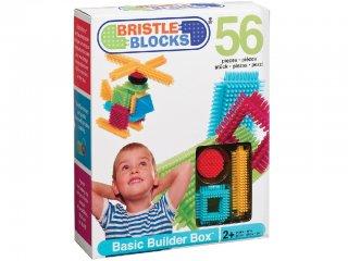 Tüskejáték készlet (Bristle Blocks, 56 db-os kreatív építőjáték, 1,5-5 év)