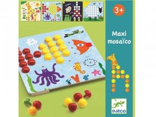 Tüskejáték, Maxi (Djeco, 8141, képkészítő játék, 3-7 év)