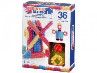 Tüskejáték szett (Bristle Blocks, 36 db-os kreatív építőjáték, 1,5-5 év)