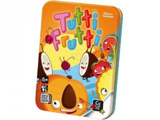 Tutti Frutti (azonosság, megfigyelés, gyorsaság kártyajáték, 4-12 év)