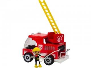 Tűzoltó autó (Hape, autós fajáték, 2-5 év)