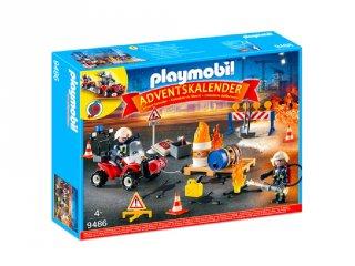 Tűzoltóság Playmobil Adventi naptár