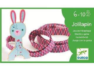 Ugráló gumi, gumi ugrálókötél gumizáshoz (Djeco, 2031, mozgásfejlesztő játék, 6-10 év)