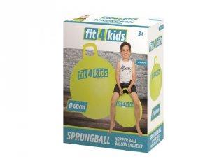 Ugráló labda 60 cm, mozgásfejlesztő játék (5-8 év)