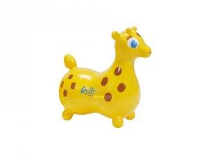 Ugráló zsiráf, mozgásfejlesztő játék (2-4 év)
