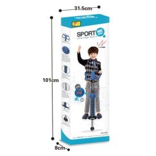 Ugrálóbot digitális ugrásszámlálóval, mozgásfejlesztő sport játék (vegyes színben)