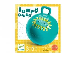 Ugrálólabda Djeco mozgásfejlesztő játék - 0181 (45 cm átmérő, 3-6 év)