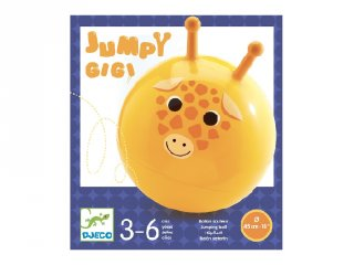 Ugrálólabda Djeco mozgásfejlesztő játék - 0182 (45 cm átmérő, 3-6 év)