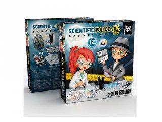 Ujjlenyomat vizsgáló készlet, tudományos játék (8-14 év)