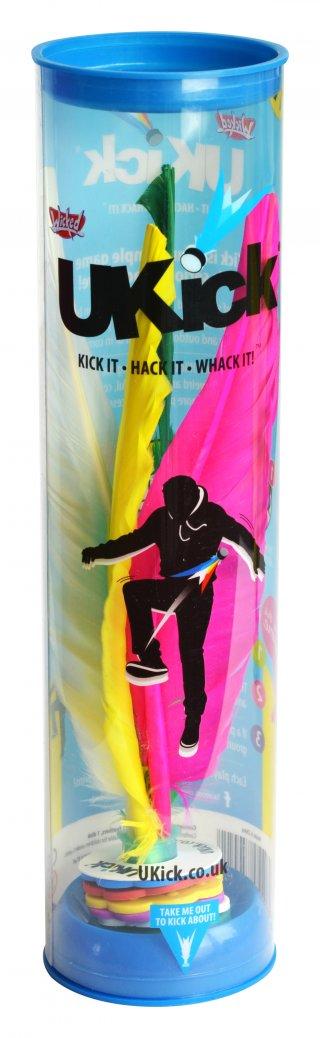 Ukick, szabadtéri dekázó tollas (mozgás-, és egyensúlyfejlesztő ügyességi játék, 7-99 év)