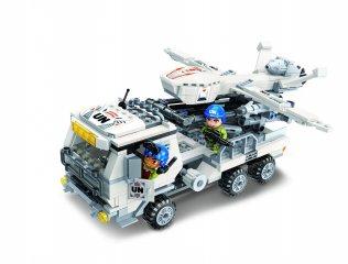 UN high-tech rakétahordozó, Lego kompatibilis építőjáték készlet (QMAN, 3215, 6-12 év)