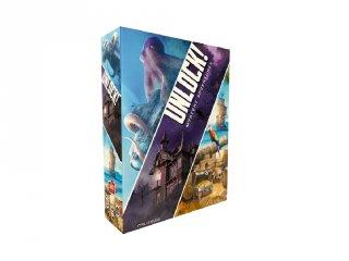 Unlock! 2. Rejtélyes kalandok, kooperatív parti társasjáték (10-99 év)