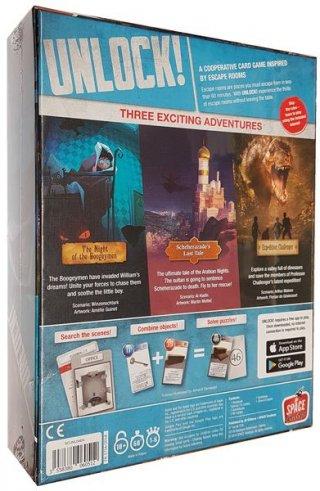 Unlock! 4. Egzotikus kalandok, kooperatív parti társasjáték (10-99 év)