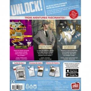 Unlock! 5. Hősies kalandok, kooperatív parti társasjáték (10-99 év)