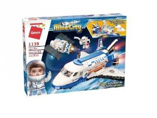 Űrsikló-csillagvizsgáló, Lego kompatibilis építőjáték készlet (QMAN, 1139, 6-12 év)