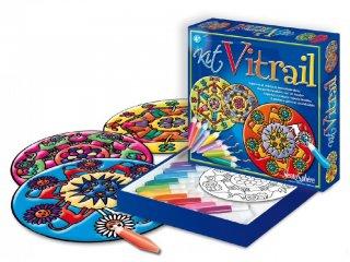 Üvegfesték, Mandala (Sentosphére, kreatív játék, 4-99 év)