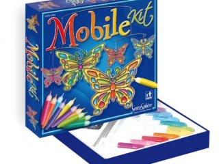 Üvegfesték, Pillangós dísz (Sentosphére, kreatív játék, 4-99 év)