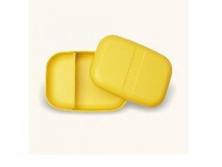 Uzsonnás doboz téglalap, citromsárga