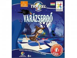 Varázserdő (Smart games, útkereső, mágneses, egyszemélyes logikai úti játék, 5-10 év)