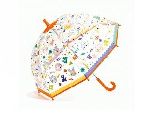 Varázsesernyő vízre változó mintával Faces, Djeco gyerek kiegészítő - 4709 (4-8 év)