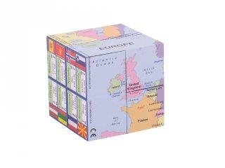 Varázskocka, Európa térkép (Zoobookoo, földrajztanulást segítő eszköz, 6-10 év)