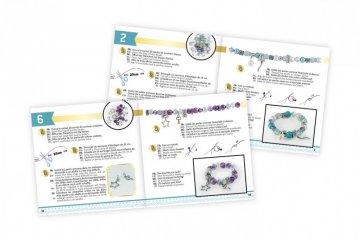 Varázslatos karkötő készítő szett, Buki kreatív játék (8-14 év)