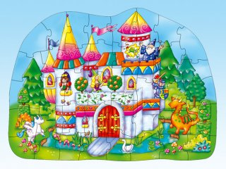 Varázslatos kastély puzzle (Orchard, magical castle, 40 db-os puzzle, 3-6 év)