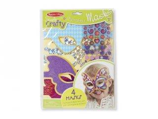 Varázslatos maszk készítés, Melissa&Doug kreatív készlet (9481, 4-8 év)