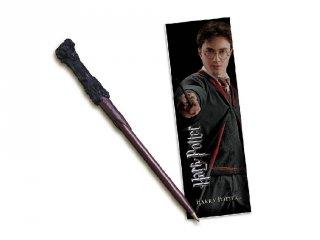 Varázspálca alakú toll és könyvjelző, Harry Potter papír-írószer