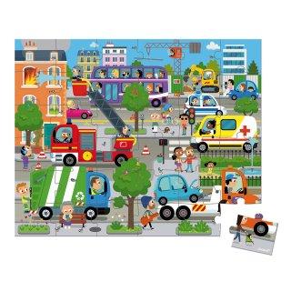 Város kirakó, Janod 36 db-os puzzle (4-7 év)