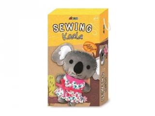 Varrható plüss koala 22 cm, kreatív készlet (Avenir, 6-12 év)