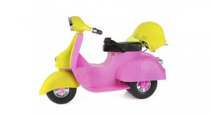 Vespa, a stílusos játékrobogó (B.Toys, 37023Z, játékbabához való játékmotor, 3-9 év)