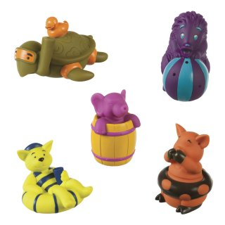 Vidám pancsibanda (B.Toys, Squirts, állatos fürdőjáték, 1-4 év)