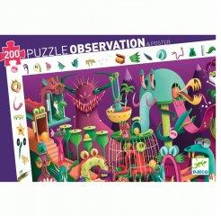 Videójátékban, Djeco 200 db-os megfigyelő puzzle - 7560 (6-12 év)