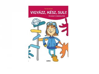 Vigyázz, kész, suli! Tér-irány gyakorlatok, készségfejlesztő könyv (MO, 4-6 év)