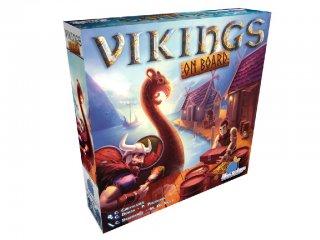Vikings on board (Blue Orange, stratégiai társasjáték, 8-99 év)