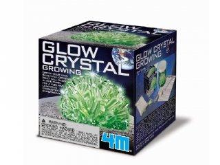 Világító kristály kísérletező készlet, tudományos játék (6-10 év)