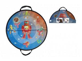 Világűr célba dobó, mágneses ügyességi játék (Scratch, 3-8 év)