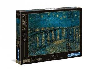 Vincent Van Gogh: Csodálatos éjszaka a Rhone fölött puzzle, 1000 db-os kirakó (CLEM, 9-99 év)