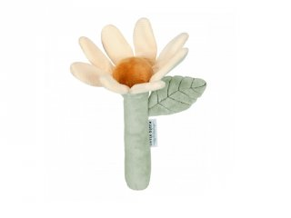 Virág alakú plüss csörgő, Little Dutch babajáték (8514, 0-2 év)