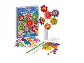 Virág készítő, Térbeli virágok (Sentosphere, kreatív készlet, 6-12 év)