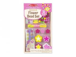Virágos kicsi fa gyöngy ékszerkészítő szett, kreatív játék (MD, 8827)