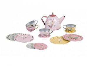 Virágos teáskészlet 13 részes, Little Dutch szerepjáték (2007675, 3-7 év)