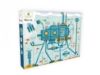 Víz alatti világ, 100 db-os puzzle (Sycomore, 5-10 év)