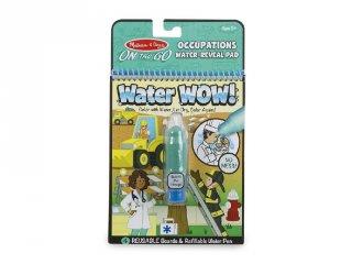 Vízzel festős minikészlet, foglalkozások, Melissa&Doug újrafesthető kreatív játék (2-6 év)
