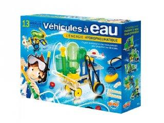 Vízzel működő járművek, 13 modell (Buki, tudományos építőjáték, 8-14 év)