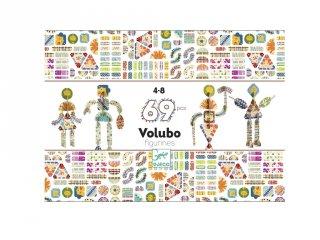 Volubo, Figurák Djeco 69 db-os 3D kreatív építőjáték (5631, 4-8 év)