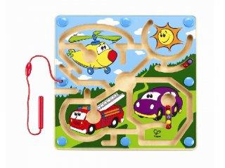 Vonalvezető, Járműves (Hape, mágneses útkereső játék, 1-3 év)