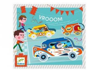 Vrooom, Djeco autós ügyességi partijáték (2093)