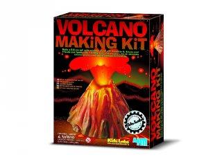 Vulkán készítő készlet (4M, tudományos játék, 6-10 év)